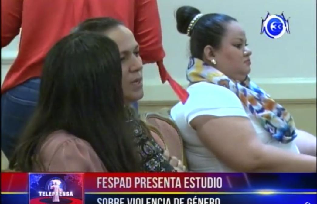 FESPAD presenta estudio sobre violencia de género