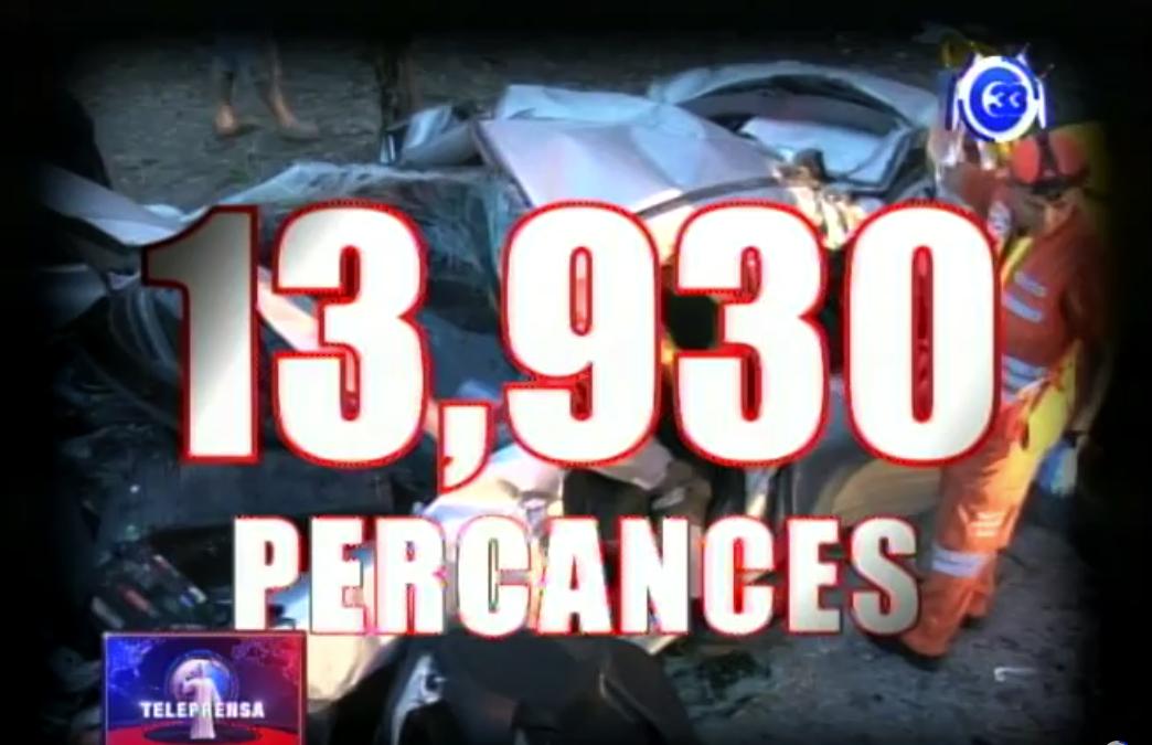31 fallecidos y 515 lesionados más que en 2017