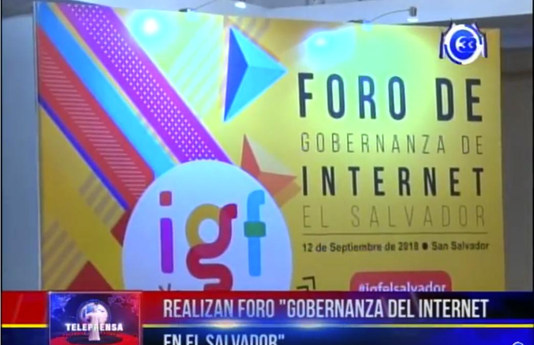 """Realizan foro """"gobernanza del internet en El Salvador"""