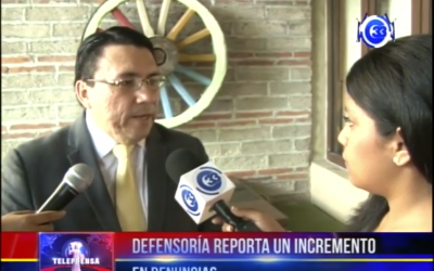Defensoría reporta un incremento en denuncias