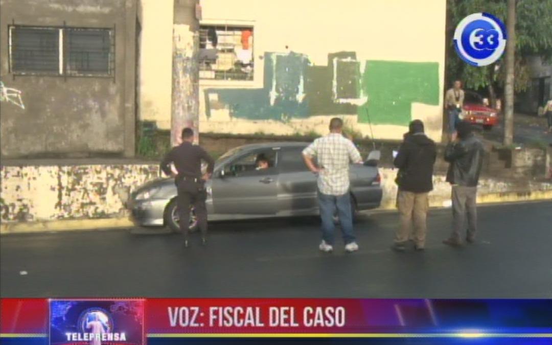Asesinan a taxista sobre la 25 Avenida Sur