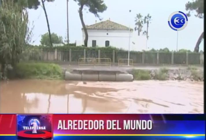Autoridades mantienen las alertas por inundaciones en ciudades de  España