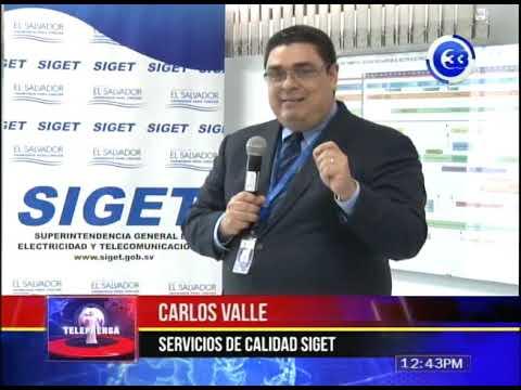 SIGET lanza reglamento para servicio de telefonía y transmisión de datos