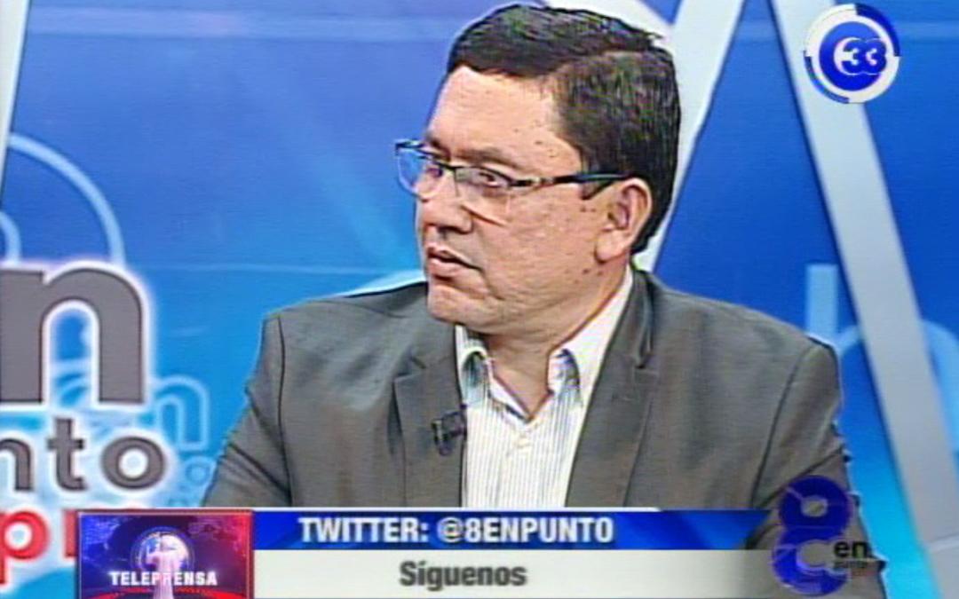 Will Salgado señala posible alianza entre ARENA y FMLN