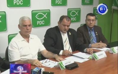 PSD presenta informe legislativo