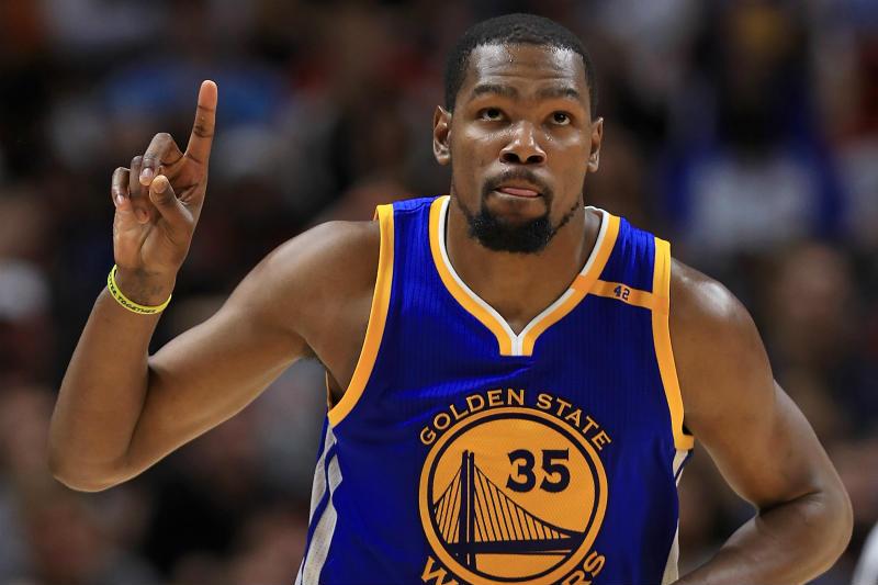 Los Warriors trabajan en la renovación de Kevin Durant