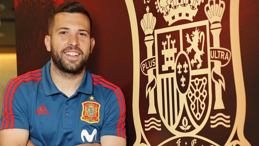Jordi Alba vuelve a la Selección Española