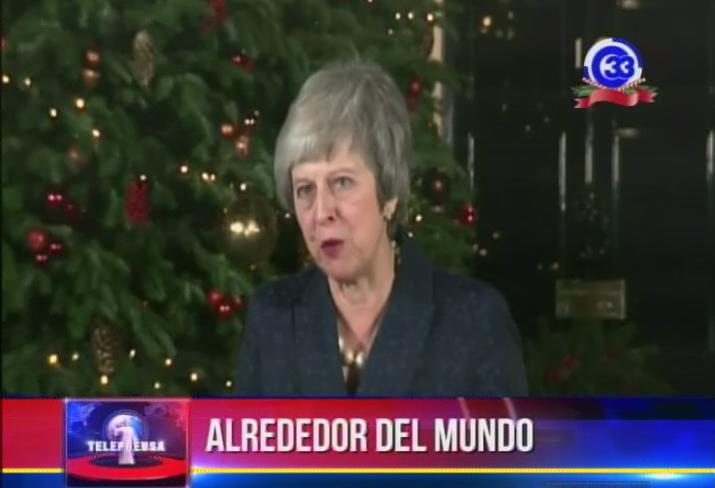 Ministra británica viaja a Bruselas para renegociar el acuerdo para de salida de la UE