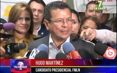 Hugo Martínez pide revisión anual de salario mínimo