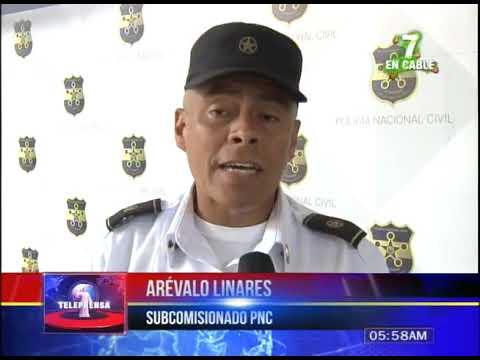 PNC registra disminución de delitos en centro de San Salvador